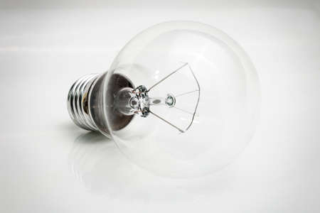 Incandescent lamp photo