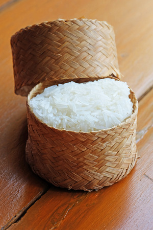 Warm Sticky Rice In The Bamboo Package