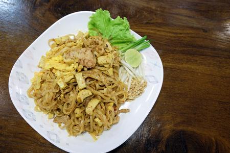 padthai: Padthai - Traditional Thai Food in the dish