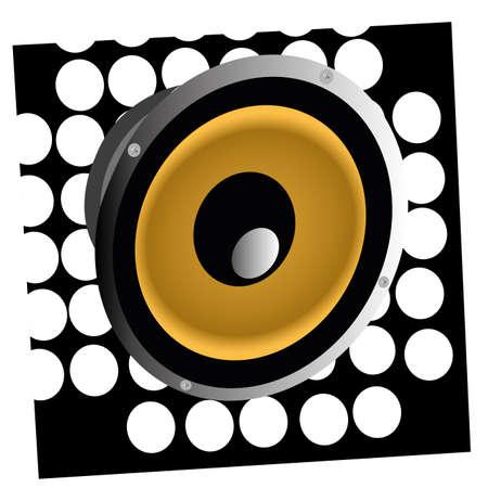 baffle: baffle symbol on special white and black background