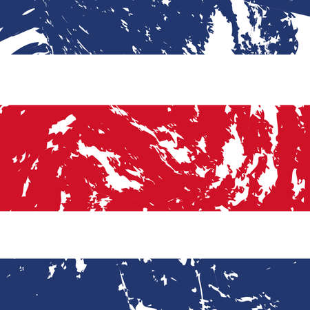 dirty costa rica flag background