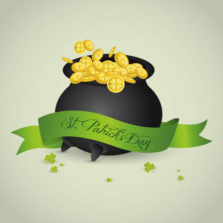 Abstract St. Patricks Day holiday special background Vector