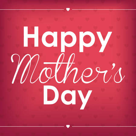 mother: Abstract happy mothers day text on a special background