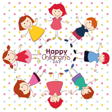childrens day: abstract childrens day background with special objects