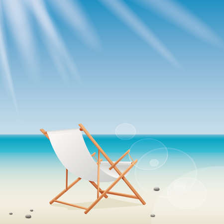 abstract summer vacation background with special objects