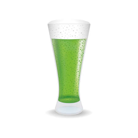 aerated: abstract isolated beverage on a white background