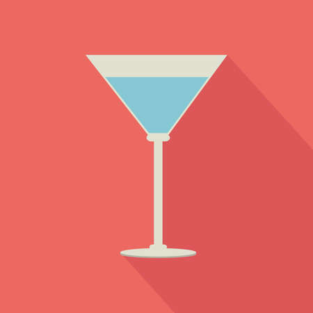 effervescent: abstract isolated beverage on a pink background