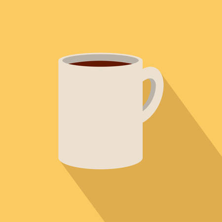 effervescent: abstract isolated beverage on a yellow background Illustration