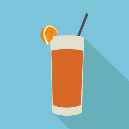 effervescent: abstract isolated beverage on a blue background