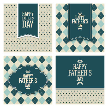 congratulations sign: abstract Happy fathers day on a special background