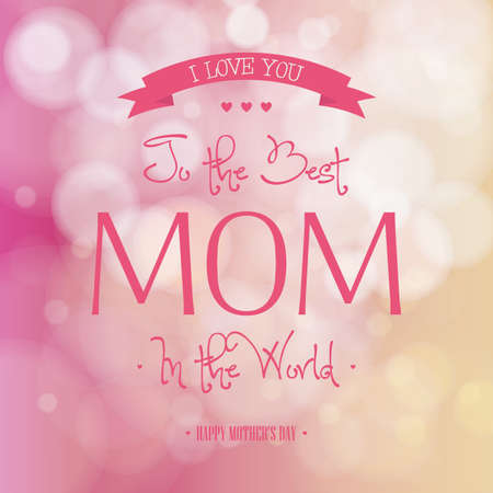 mothers day background: abstract mothers day background with special objects