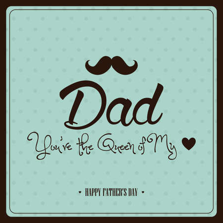 fathers day background: abstract happy fathers day background with special objects