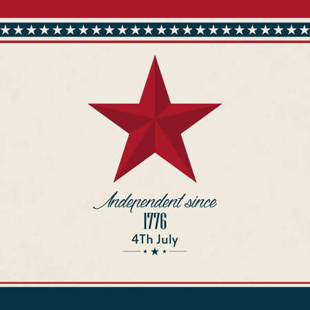 abstract independence day background with special objects