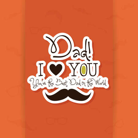 fathers day background: abstract fathers day background with some special objects
