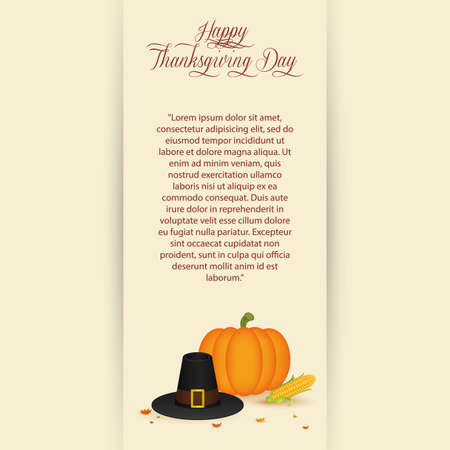 abstract thanksgiving day background with special allusive objects