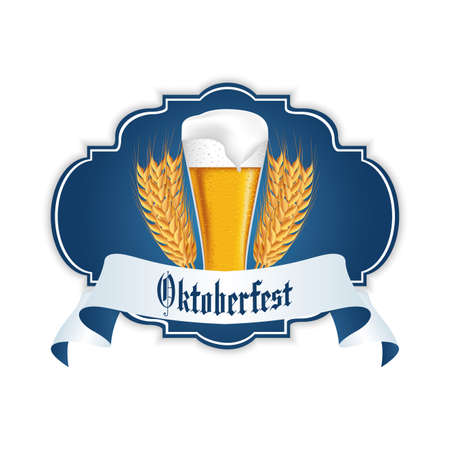 allusive: abstract oktoberfest background with special allusive objects