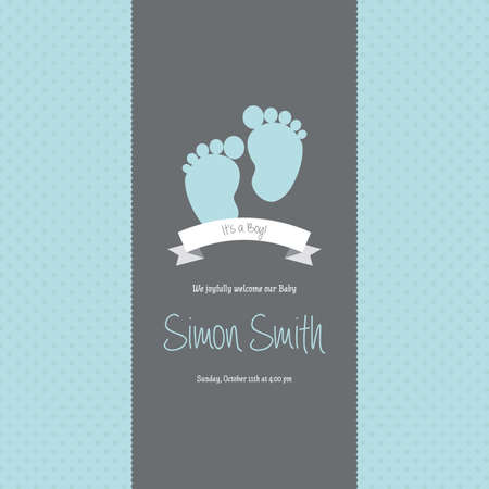 baby shower party: abstract baby shower background with some special objects