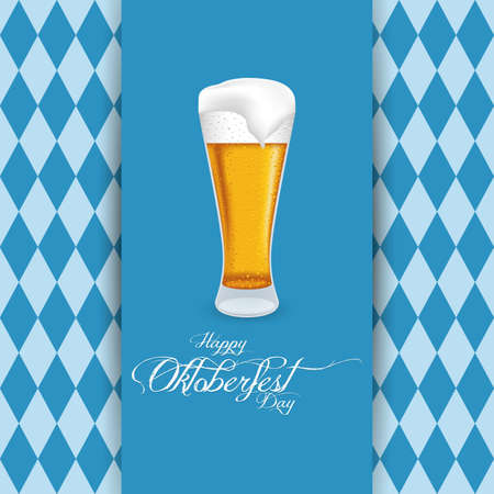 Abstract Oktoberfest background with some special objects
