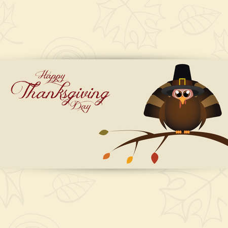 thanksgiving art: Abstract thanksgiving day background with some special objects