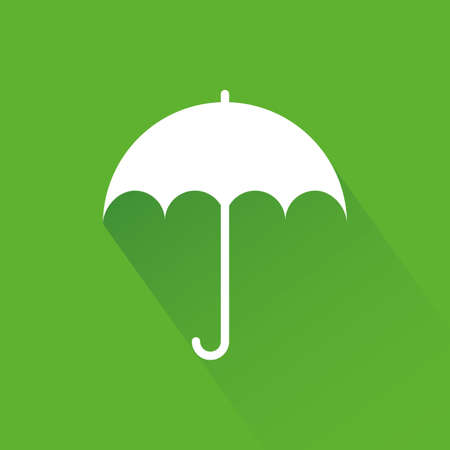 sostenibilit�: abstract sustainability icon on a green background Vettoriali