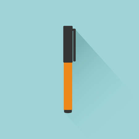 office supply: Isolated office supply on a blue background