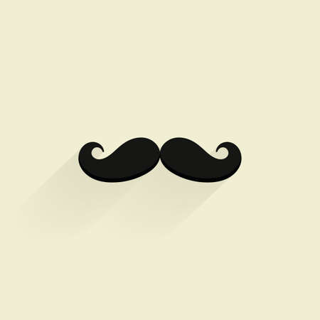 Isolated hipster icon on a white background Zdjęcie Seryjne - 47725567