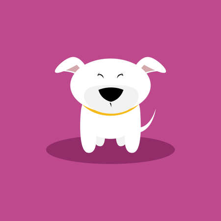 cute dog: abstract cute dog on a special background Illustration