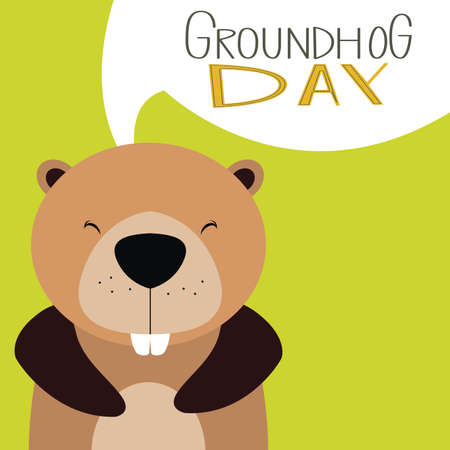 forecaster: abstract groundhog day background