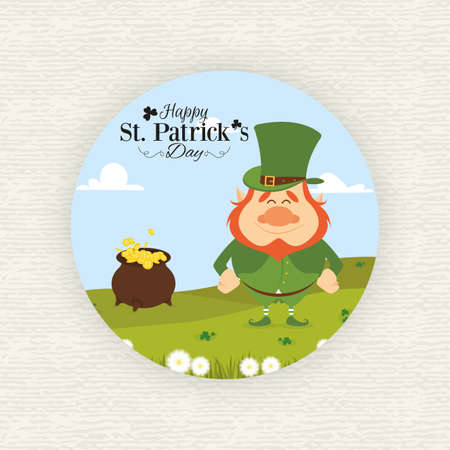 patric background: abstract saint pattrick day with some special objects