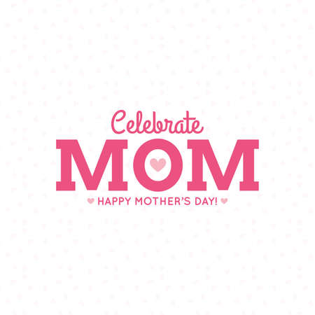 Abstract mothers day background with some special objects