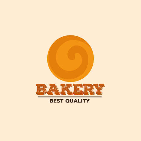 homemade bread: abstract bakery label on a special ligth background