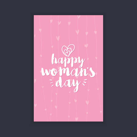 happy: Happy women Day Illustration