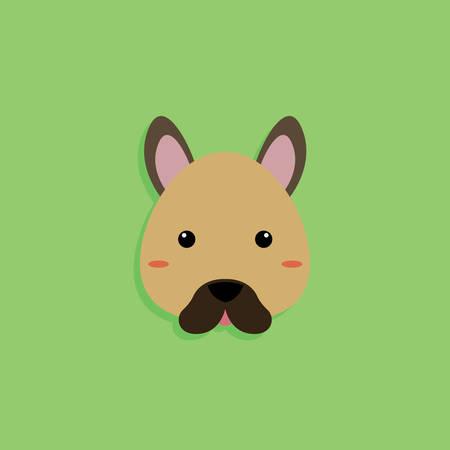 Dog Cartoon face