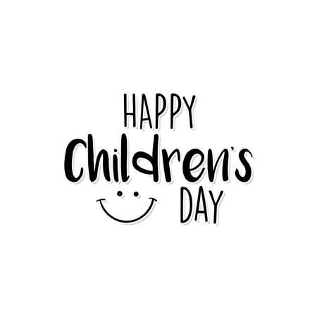 Happy Children day 矢量图像