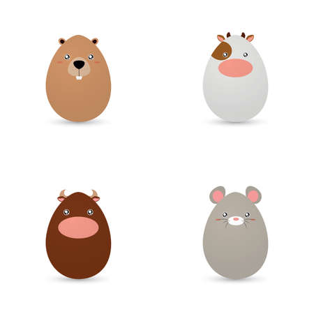 Easter Animals Eggs