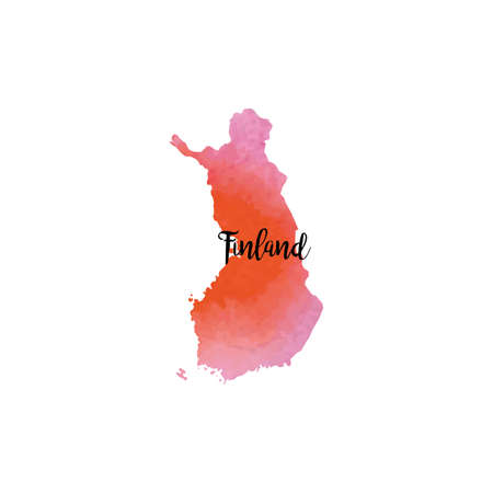 Abstract Finland map