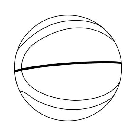 Abstract Basketball illustration. Illustration