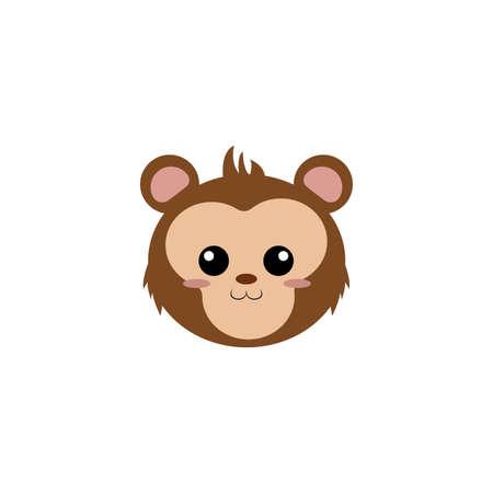Cute animal face.