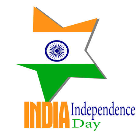 India Independence day banner design.