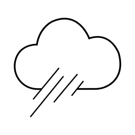 Abstract Weather Icon illustration.