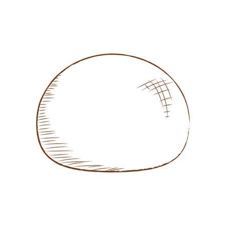 Abstract bakery food Ilustracja