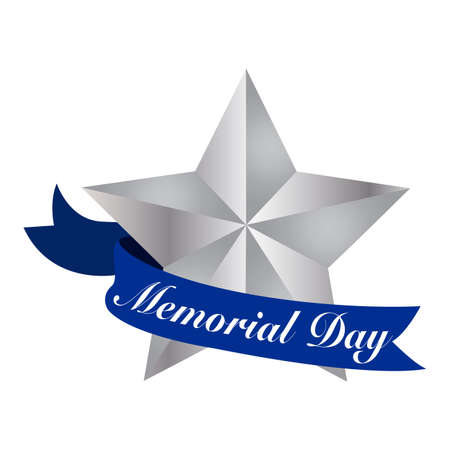 abstract memorial day background with some special objects 向量圖像
