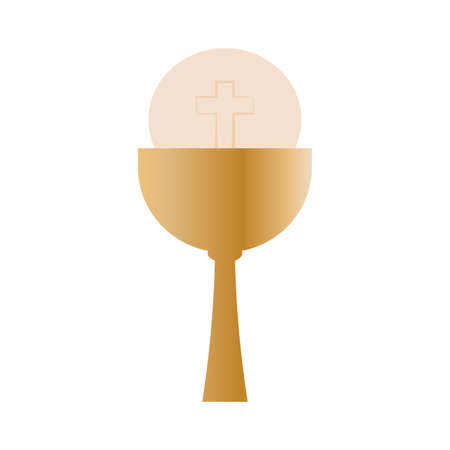 abstract holy week symbol on a white background