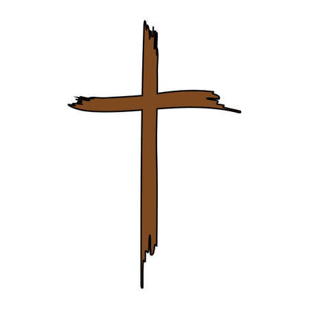 Holy cross vector illustration. Vectores