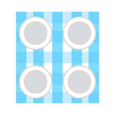 Abstract picnic object Illustration