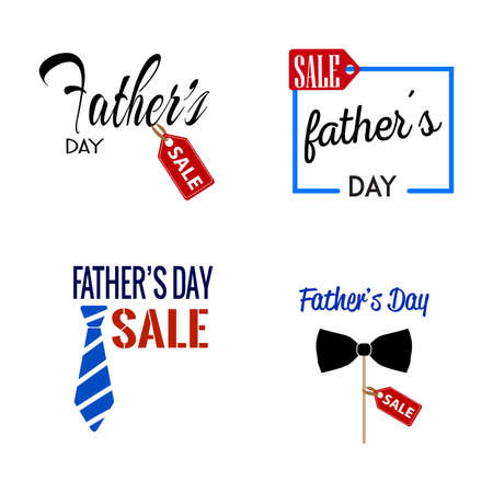 abstract fathers day sale background with some special objects Stock Vector - 99306945
