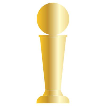 Abstract winner plaque symbol
