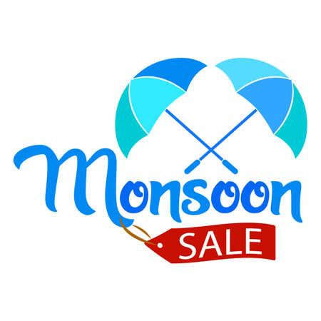 Abstract monsoon sale Illustration
