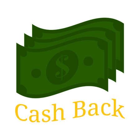 Cash back background
