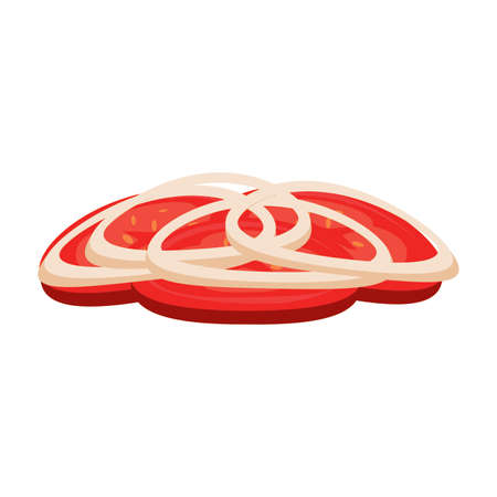abstract burger object